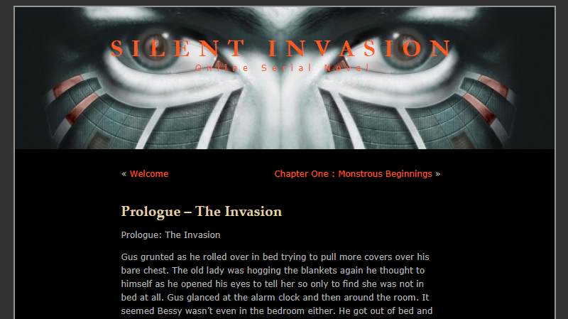 Story Time: Silent Invasion, Chapter Seven